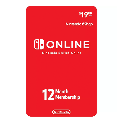 Nintendo Switch Online 1-year Membership