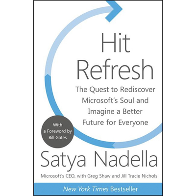 Hit Refresh paperback book