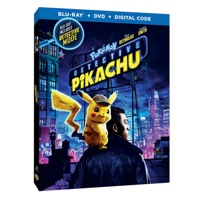 Pokémon: Detective Pikachu (Blu-ray + DVD + Digital HD)