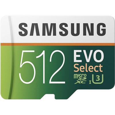 Samsung Evo Select 512GB microSD card