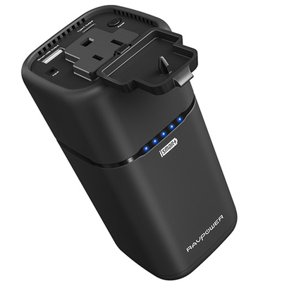 RAVPower 20100mAh universal power bank with AC outlet