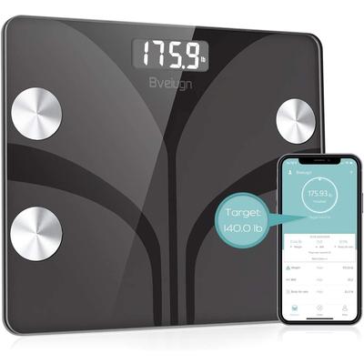 Posture+ smart digital body fat bathroom scale
