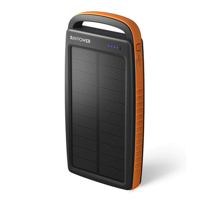 RAVPower 20000mAh Portable Solar Power Bank