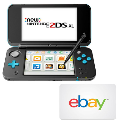 New Nintendo 2DS XL Console (Refurbished) + $25 eBay Coupon