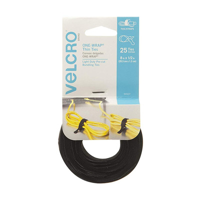 Velcro One Wrap Thin Reusable Ties