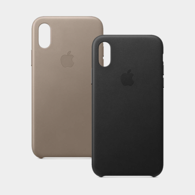 Apple Leather Case for iPhone XS