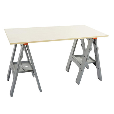 Snag the best price ever on two AmazonBasics Folding Sawhorses