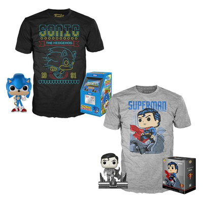 Funko Pop! and T-shirt bundles