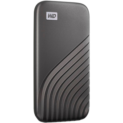 WD My Passport 500GB USB-C portable solid state drive