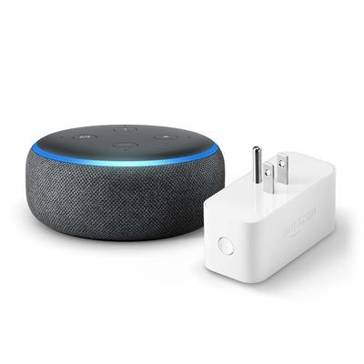 Amazon Echo Dot with Amazon Smart Plug