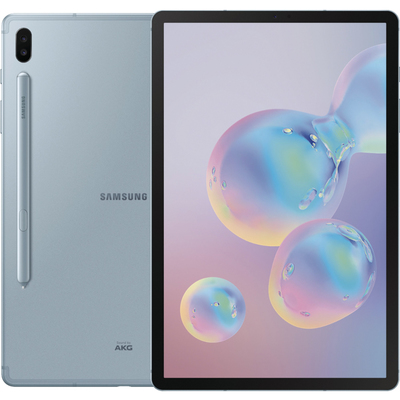 Samsung Galaxy Tab S6 10.5-inch Android tablet Cloud Blue Rose Blush