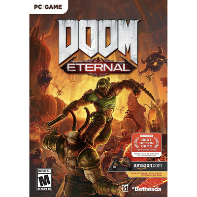 Doom Eternal video game pre-order PC PlayStation 4 Xbox One