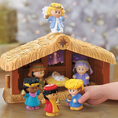 Save money now on something you might want later with this discounted Fisher-Price Little People Nativity Set