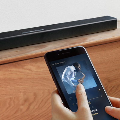 Boost your TV's sound with the Soundcore Infini 2.1-channel Bluetooth Soundbar at 25% off