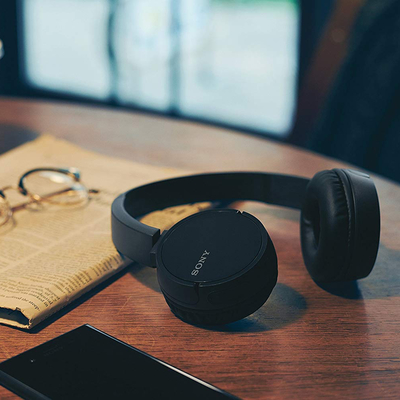 Enjoy 20 hours of playtime with Sony's discounted WH-CH500 Bluetooth on-ear headphones