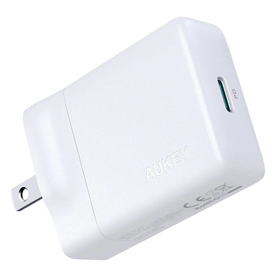 Aukey USB-C 27W Power Delivery wall charger