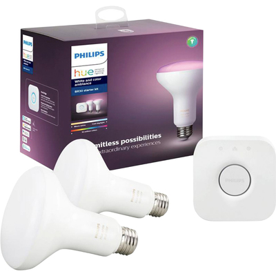 Philips Hue white & color BR30 starter kit