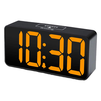 DreamSky Compact Digital Alarm Clock with USB Ports
