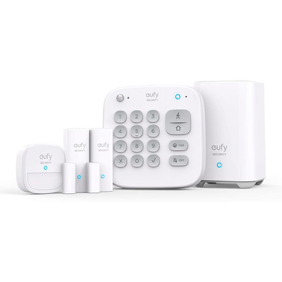 Eufy Security 5-piece Home Alarm Kit Smart Security System