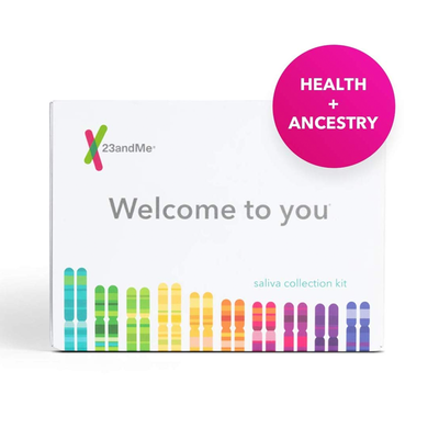23andMe Health and Ancestry Personal Genetic Service DNA Test