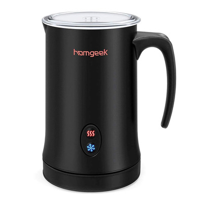 Homgeek Electric Milk Steamer and Frother