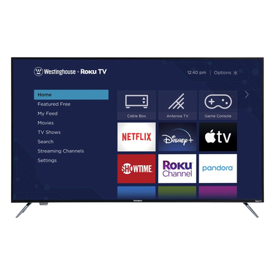 Westinghouse 58-inch Smart 4K UHD Roku TV