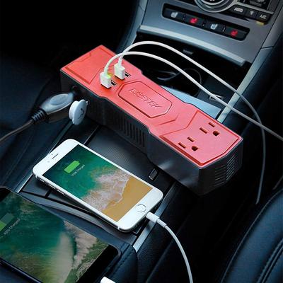 BESTEK 200W Power Inverter and USB charger