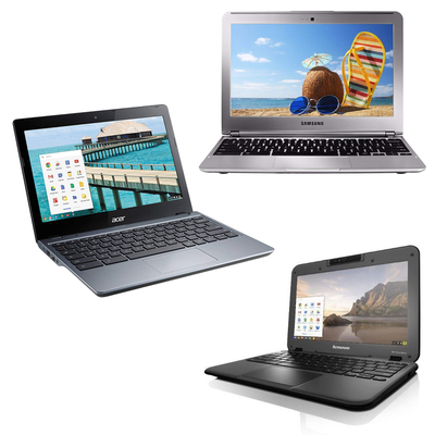 Get to work with refurbished Chromebooks from Acer, Lenovo, and Samsung on sale for one day only
