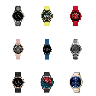 Smartwatches from Fossil, Michael Kors, and more
