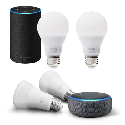 Dive into smart lighting with these Prime Day discounts on Echo and Philips Hue bundles