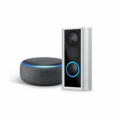Ring Peephole Cam + Echo Dot