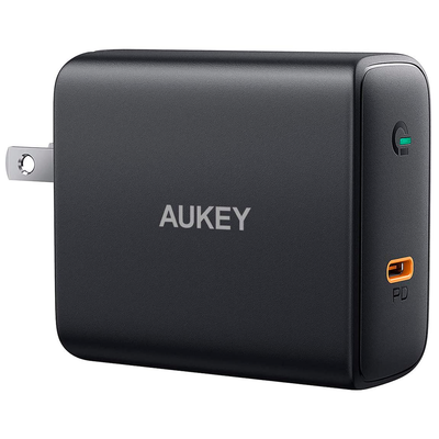 Aukey 60W Power Delivery 3.0 USB-C Wall Charger