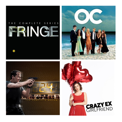 Complete TV Series Digital HD sale: Fringe, The O.C., and more