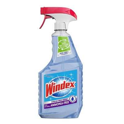 Windex Ammonia-Free Glass Cleaner 23-Ounce Bottle