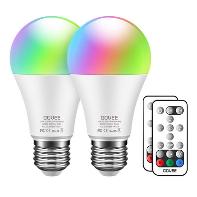 Govee RGBW LED Light Bulbs (2-Pack)