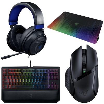 Razer PC and gaming accessories sale mice keyboards headsets & more