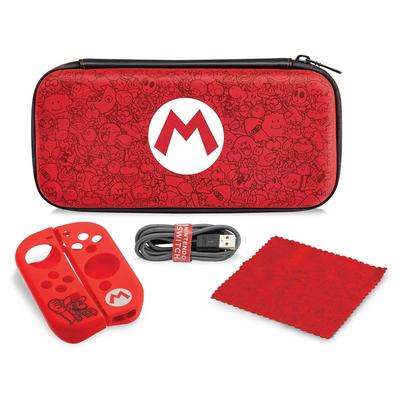 PDP Nintendo Switch Starter Kit Mario Remix Edition