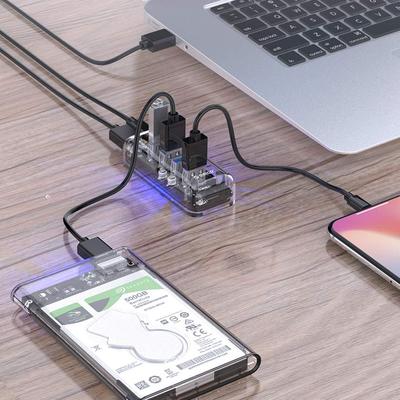 ORICO 4-Port Transparent USB 3.0 Hub