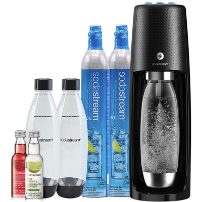 SodaStream Fizzi one-touch sparking water maker