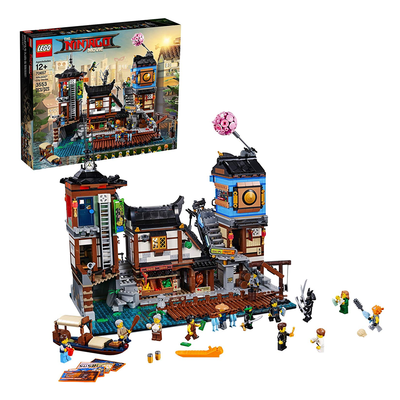 LEGO Ninjago Movie Ninjago City Docks building kit