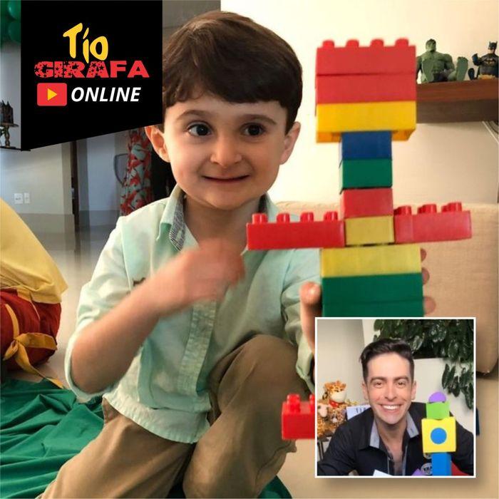 10 minutos de brincadeiras ao vivo com Tio Girafa Online
