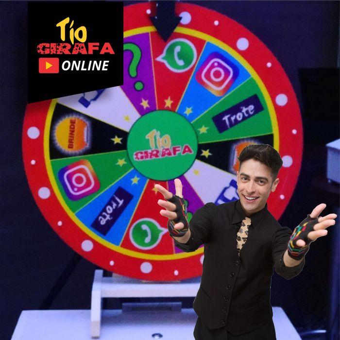 20 minutos de brincadeiras ao vivo com Tio Girafa Online
