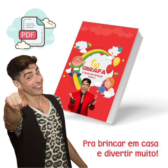 E-BOOK com as brincadeiras mais divertidas Vol. 2