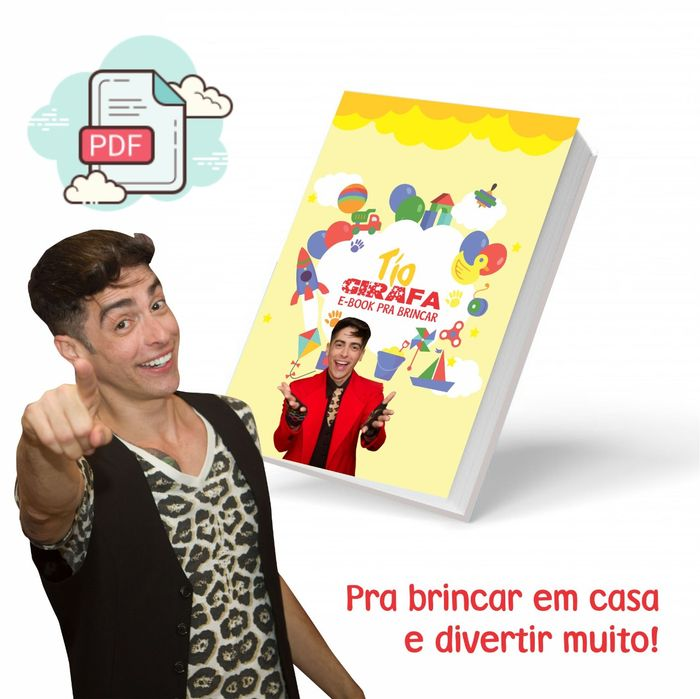 E-BOOK com as brincadeiras mais divertidas Vol.1