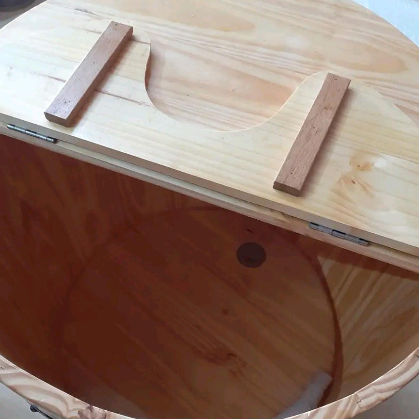 Ghế gỗ song tiện