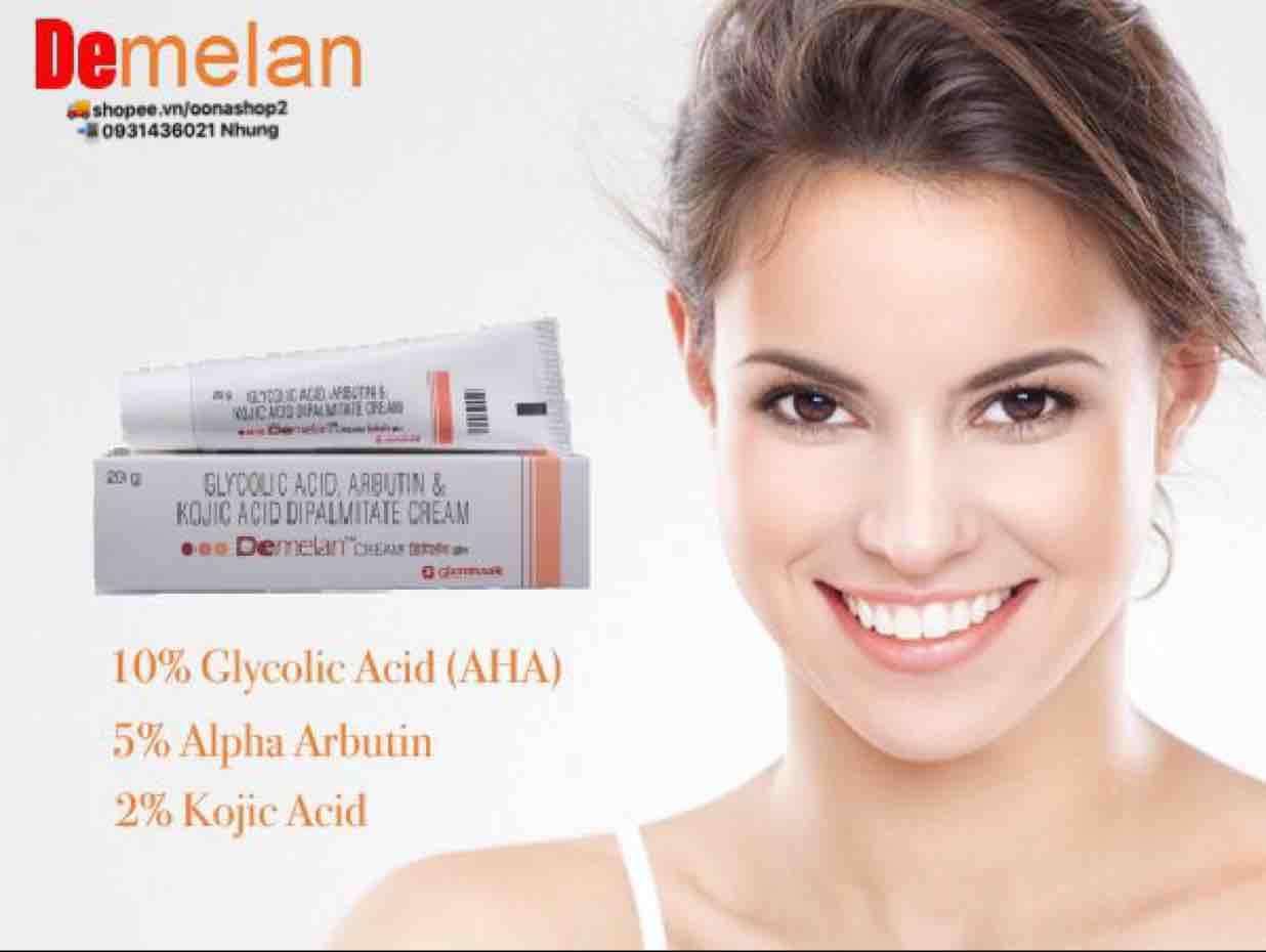 kem Demelan dưỡng trắng da an toàn hiệu quả