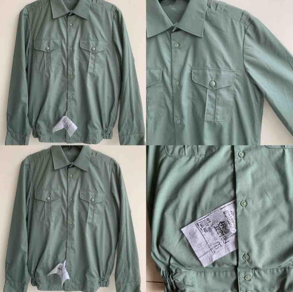 áo chun mầu oliu