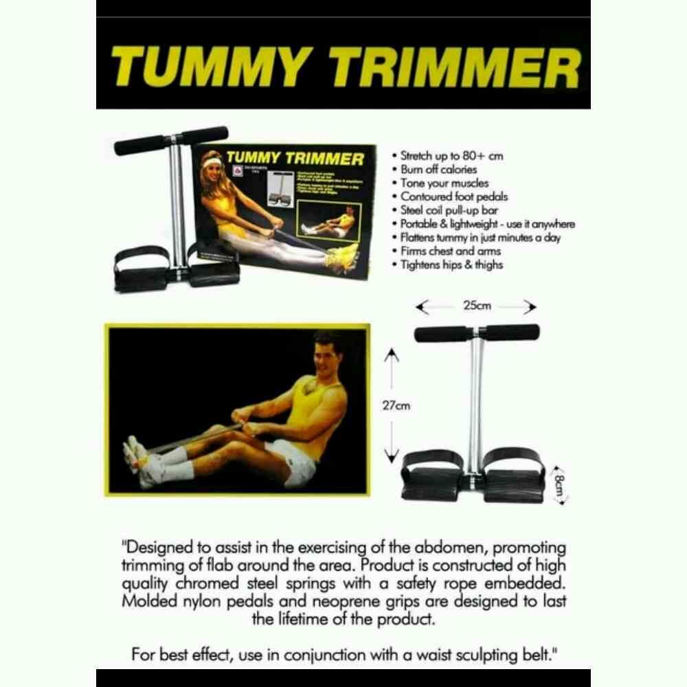 Tummy Trimmer Pembakar Lemak, Pembentuk Badan