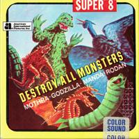 Cover art for Destroy All Monsters Super 8