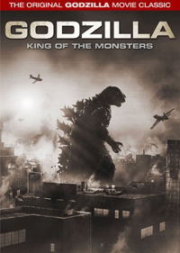 Cover art for Godzilla King of the Monsters DVD